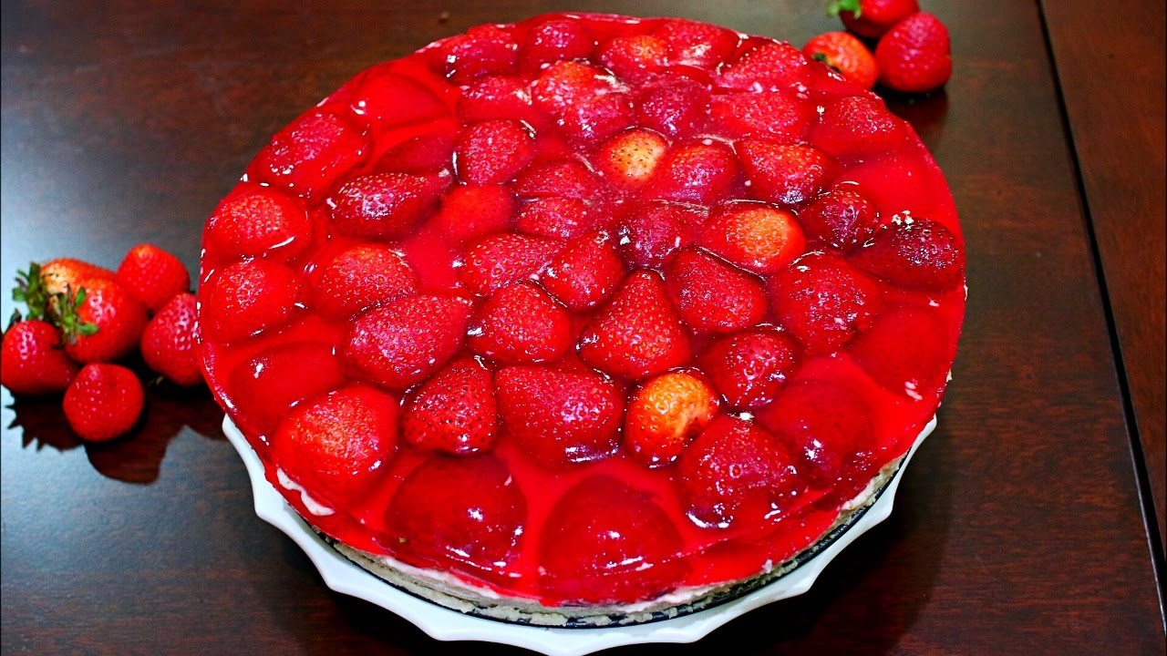 Strawberry Cake Recipe With Jelly: INCREDIBLE Strawberry Jello Cake Recipe