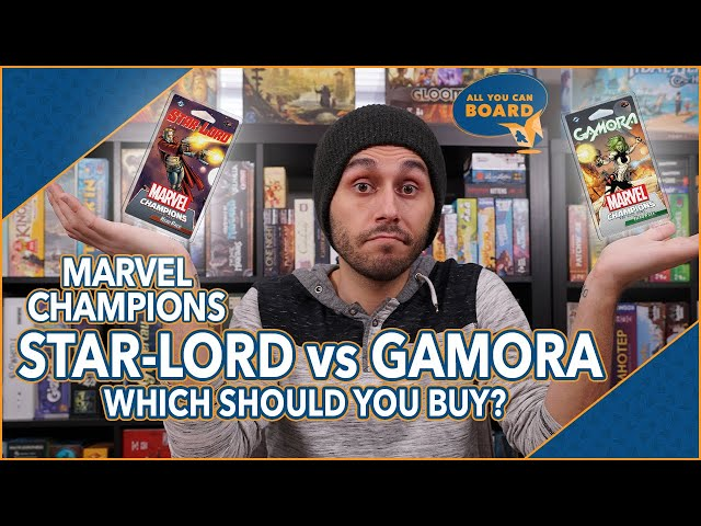 STAR-LORD vs GAMORA | Marvel Champions | Which Should You Buy (If You Can ONLY Buy ONE!)