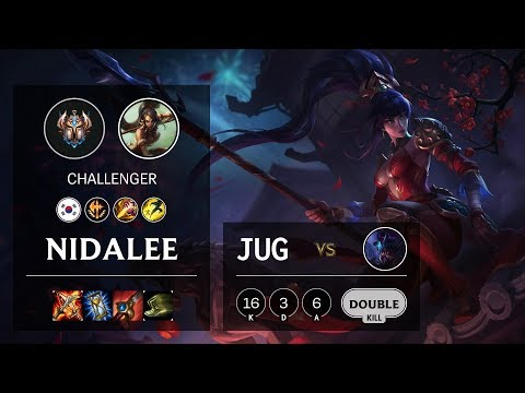 Nidalee Jungle vs Rek'Sai - KR Challenger Patch 10.8
