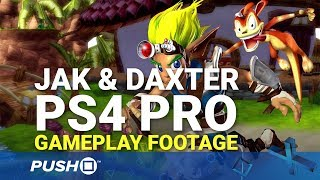Jak & Daxter: The Precursor Legacy PS4 Pro Gameplay Footage | PlayStation 4 | PS2 Classic