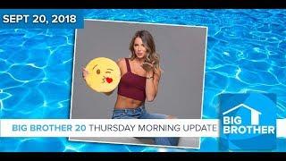 BB20 | Thursday Morning Live Feeds Update - Sept 20, 2018