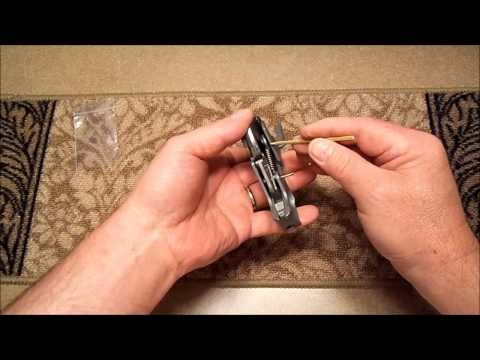 How To Install a Mini-14 Hammer Spring and Trigger Shim Kit, Includes Mini-30 and Ranch Rifle