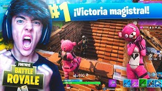 EPIC VICTORIA WITH THE NEW LEGENDARY SKIN OF FORTNITE: Battle Royale!! - Agustin51