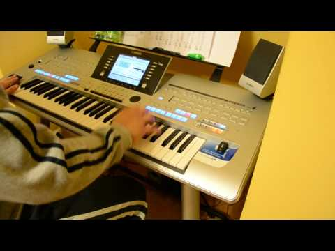 DJ Layla feat. Alissa - Single Lady - Yamaha - Keyboard - Tyros 4 (Cover)