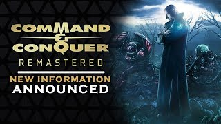 COMMAND AND CONQUER - REMASTER DETAILS REVEALED | First Details on the source code and engine [2019]