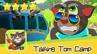 Talking Tom Camp PVP Day 19 Walkthrough Attack Now! Recommend index four stars