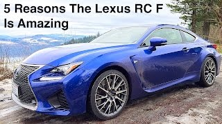 Lexus RC F 2015 Videos