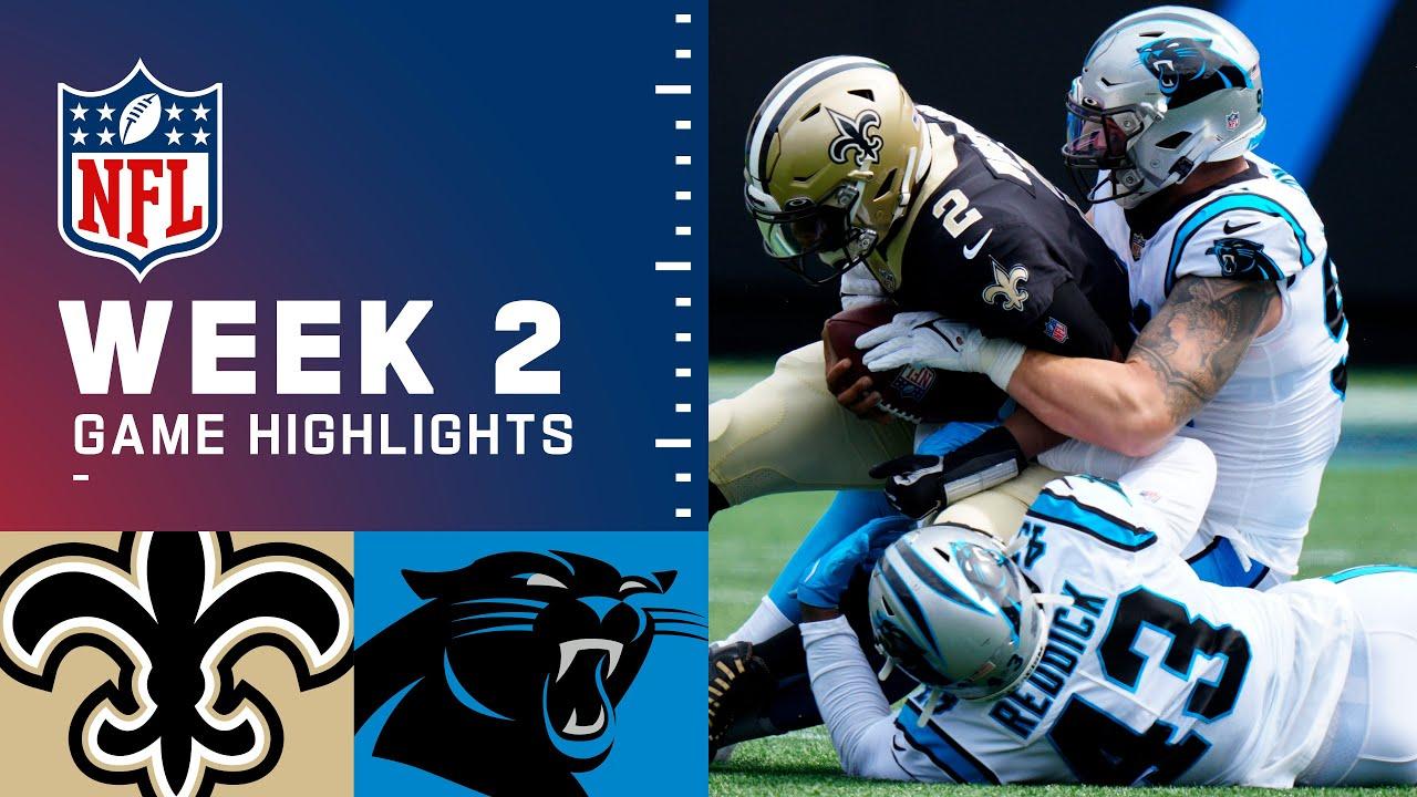 Download Saints vs. Panthers Week 2 Highlights   NFL 2021