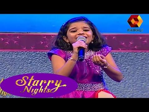 Starry Nights:ശ്രേയകുട്ടി 'വരമഞ്ഞളാടിയ രാവിന്റെ മാറിൽ' പാടിയപ്പോൾ  | 21th March 2017 | Full Episode