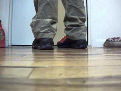 69fa95f0bcf4 2014 Nike Air Bakin On Feet Early Review - YouTube