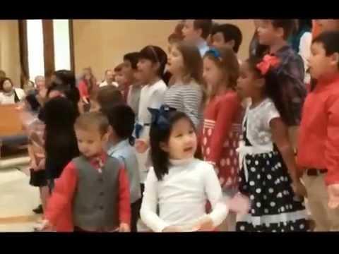 God Bless the USA - St. Paul Children's Choir and Little Angels