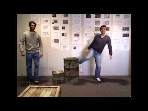 Advanced Kinect-Based Augmented Reality R&D Demo