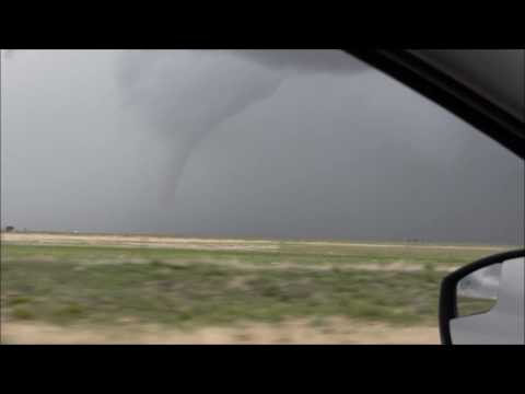 Tornado & Hail - Felt, Oklahoma - May 16 2016
