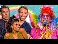 DEADPOOL 2 Cast vs. Unicorn Man | Ryan Reynolds, Josh Brolin, Zazie Beetz
