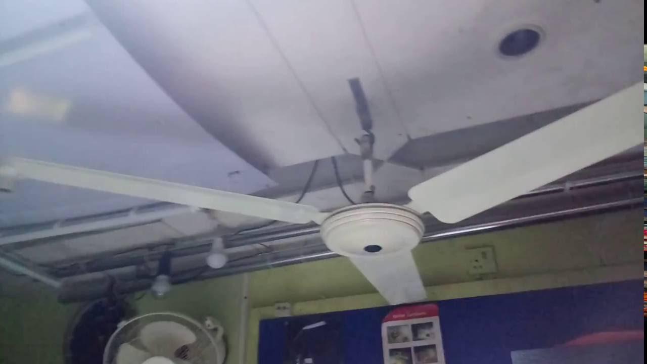 Solar DC 12V Ceiling FAN - YouTube