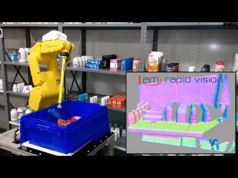 Robotic Shelf Picking - IAM Robotics Automated Storage & Retrieval System (AS/RS)