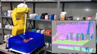 Robotic Shelf Picking - IAM Robotics Automated Storage & Retrieval System (AS/RS)