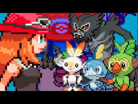 Pokemon The Last Fire Red Part 1 IS THAT ZARUDE! Pokemon Rom Hack Gameplay Walkthrough