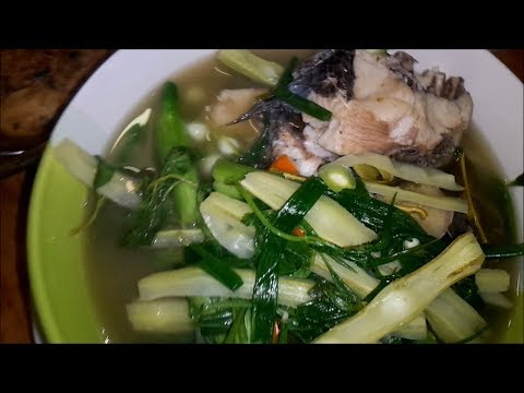 Fish curry with Moringa vegetable - Asian food