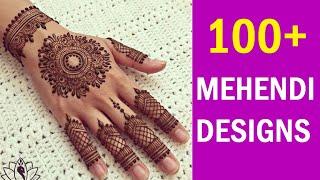 100+ Best Mehndi Designs for Hands (2018) || Unique Mehndi Designs Photos ||