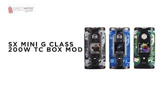 DirectVapor.com Insider: SX Mini G Class | A Stunner!