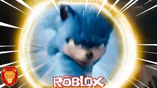 THE DIMENSION OF THE SONIC PELICULA IN ROBLOX SPANISH SONIC PELICULA IN ROBLOX LEON PICARON