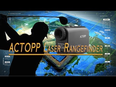 Actopp Golf Entfernungsmesser : Actopp laser rangefinder golf distance finder for