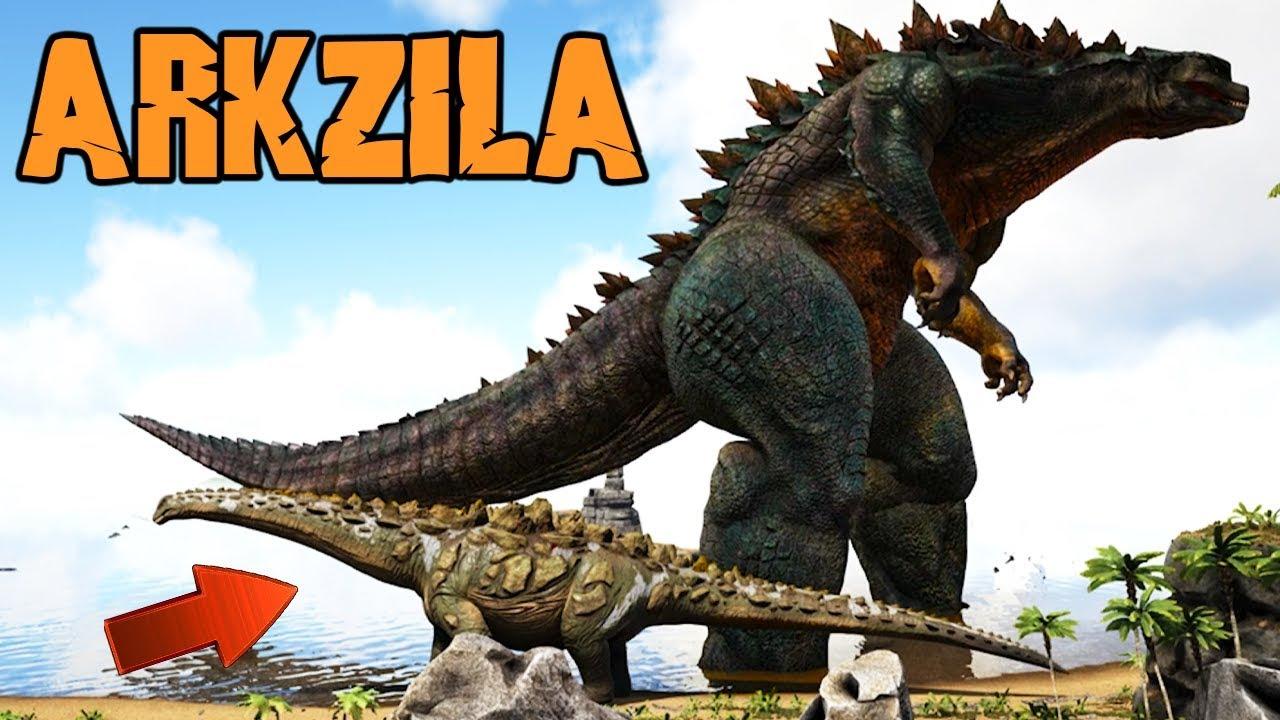 Image result for godzilla 2014 ark mod