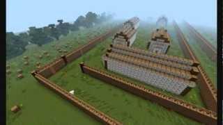 Minecraft - Iroquois Longhouse Village