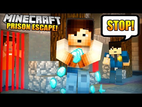 I TRIED TO CHEAT...! - (Minecraft Prison Escape #2)