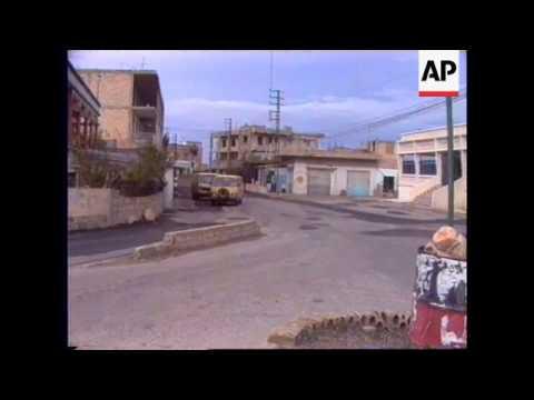 South Lebanon -Irish Unifil Post Hit By Shell