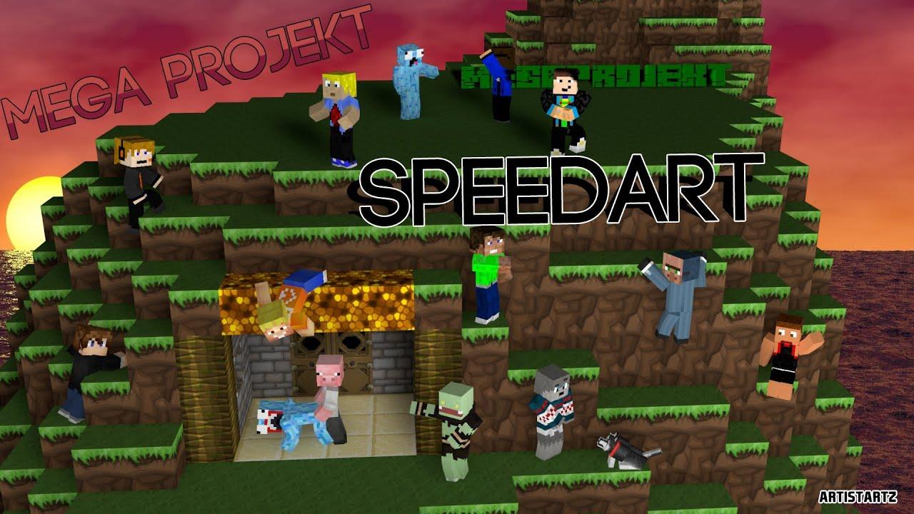 Lpmitkev skin  Mega Projekt || Speedart || ArtistArtz - YouTube