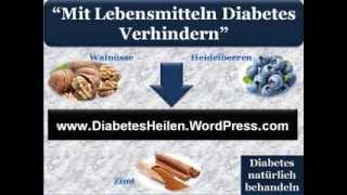Wie diabetes natürlich heilen - Diabetes natürlich behandeln - Diabetes vorzubeugen