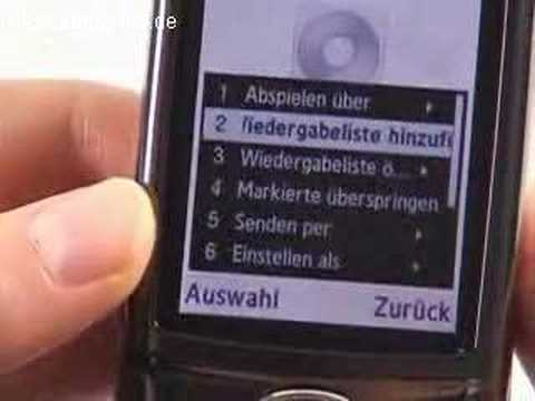 Samsung SGH G600 Musikplayer