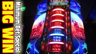 BIG WIN ★ A LOW ROLLER MINIMUM BET SPECIAL [Slot Machine Big Win Bonus]