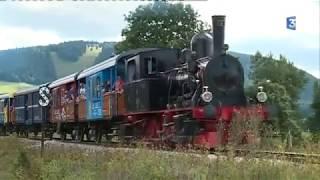 Le Coni'fer, à toute vapeur ! - Reportage 2017 ( Coni'fer train : A steam tourist railway ...