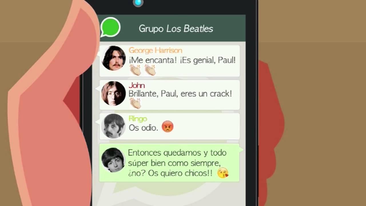 Grupo De Whatsapp: Los Beatles