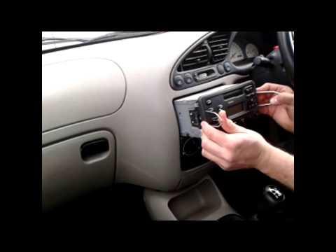 Radio Removal Ford Fiesta (1995-2002) | JustAudioTips