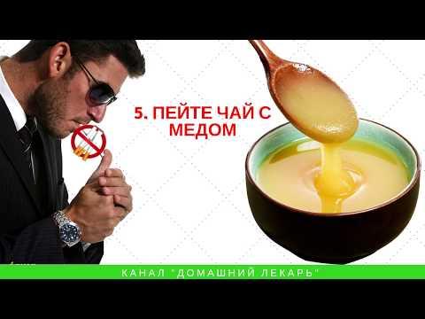 От сигарет болит горло
