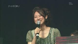 中江有里さんが、テレビ局のイベントで16年ぶりに歌手活動をしたようで...