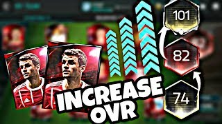 FIFA MOBILE 18 : HOW TO INCREASE OVERALL EASILY !!