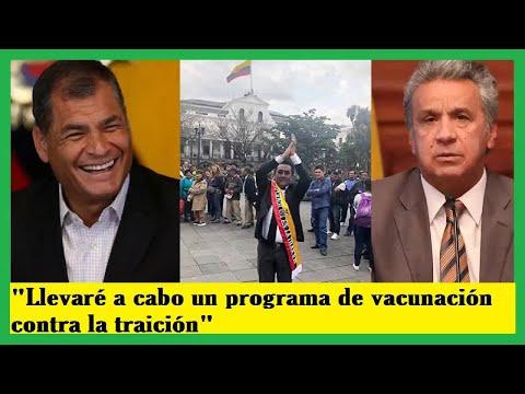 NOTICIAS DE HOY ECUADOR 9 DE MARZO 2019 |Llevaré a cabo un programa de vacunación contra la traición