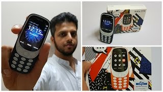 Nokia 3310 Unboxing in Hindi   First Look + Hands on Review of 2017 Nokia 3310