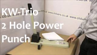 KW Trio 2 Hole Power Punch