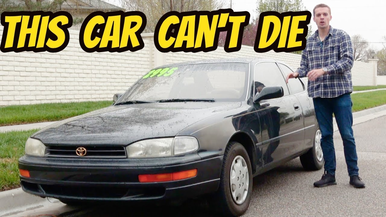 Here's Why the 90's Toyota Camry Live Forever