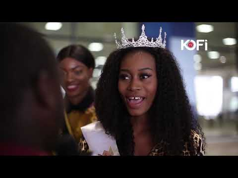 GHANAIAN MISS COMMONWEALTH WINNER WINS MISS PHOTOGENIC IN INDIA
