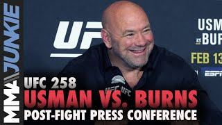 UFC 258 post-fight press conference