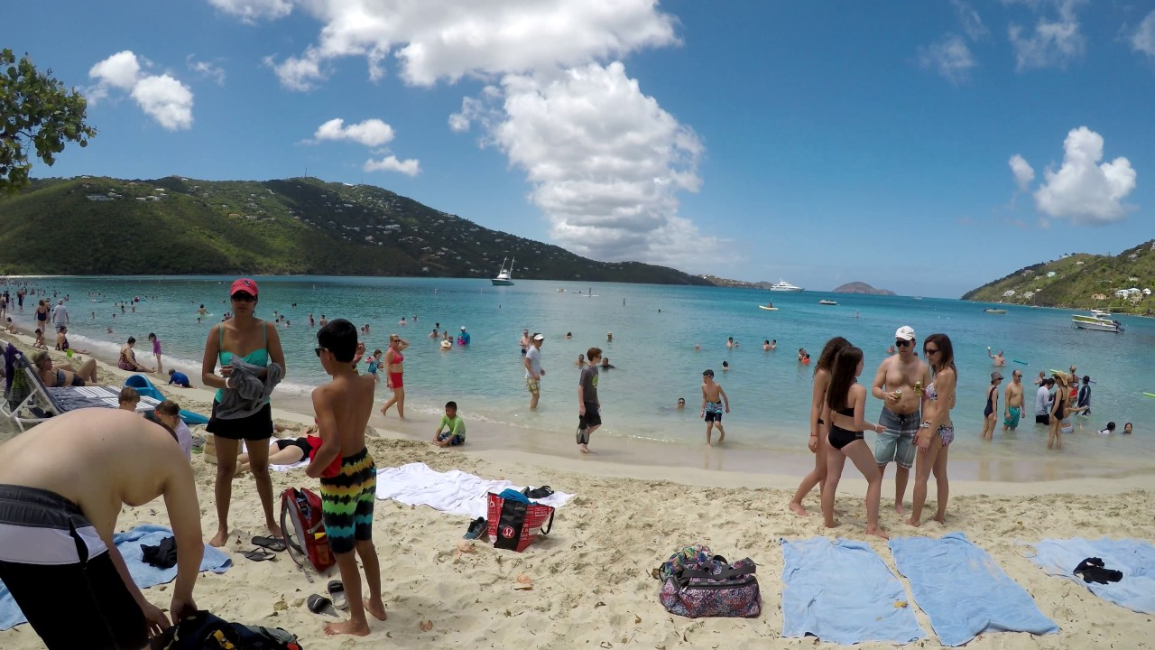 4k St Thomas Magens Bay Beach