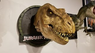 Chronicle Collectibles Jurrasic Park Female T-Rex 1/5 Bust Unboxing and Review