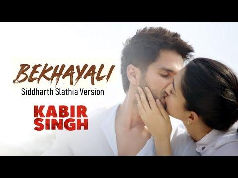 Bekhayali | Kabir Singh | Shahid Kapoor, Kiara Advani | Siddharth Slathia